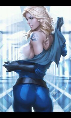 SUSAN STORM | The Invisible Woman •Stanley Lau