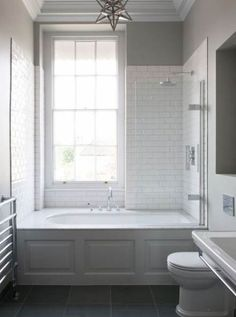Badezimmer Small Bathroom Tub Shower Combo Ideas How Contemporary Office Furniture Can Help Your Bathtub Shower Combo, Shower Over Bath, Bathroom Tub Shower, Bathroom Renos, Bathroom Remodeling, Remodeling Ideas, Shower Window, Small Bathroom With Tub, Bathroom Makeovers