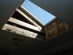 Installing a skylight - light shaft