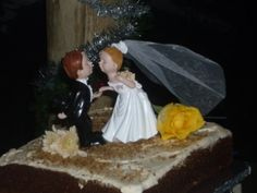 Wedding Cake, had to be carrot cake, I don't eat chocolate :)