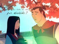 Mulan & Shang (Mulan)