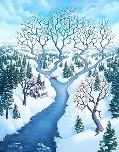 Take a look at this amazing Rob Gonsalves Magic Realism Illusions illusion. Browse and enjoy our huge collection of optical illusions and mind bending images and videos.