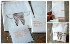 Under The Table and Dreaming: 10 Tooth Fairy Traditions and Ideas - Tuesday - I really love the tooth fairy business card1