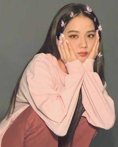 Kpop Girl Groups, Korean Girl Groups, Kpop Girls, Blackpink Jisoo, Black Pink ジス, Blackpink Poster, Mode Kawaii, Tumbrl Girls, Blackpink Photos
