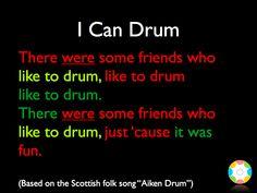 I Can Drum   Developmental Community Music