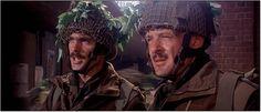 "Anthony Hopkins in ""A Bridge Too Far"" (Richard Attenborough, Richard Attenborough, Crazy Fans, Market Garden, Anthony Hopkins, Sean Connery, Military History, Ww2, Captain Hat, Bridge"