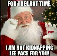 Come on Santa..please, please, pleeeeeaassseeeee