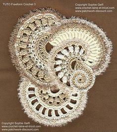 Ravelry: Freeform Crochet Tuto 3 pattern by Sophie GELFI Designs