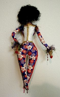 African American Art Doll-Sistah Louise-OOAK Doll  (Take Request to Make Similar Doll). $95.00, via Etsy.