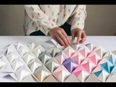 DIY Origami Wall Display   Design*Sponge   Bloglovin'