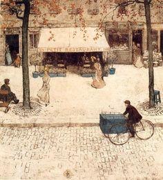Paris, Tavik Frantisek Simon. Czech Painter, Printmaker (1877 - 1942)