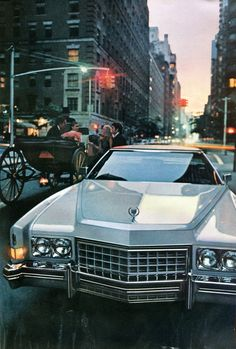 1973 Cadillac Eldorado Im tearing up right now Retro Cars, Vintage Cars, Antique Cars, American Auto, American Classic Cars, Cadillac Eldorado, Natur Tattoos, Most Popular Cars, Old School Cars