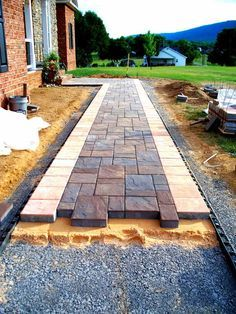 Garden paths - front yard ideas - Garden paths Garden paths The post Garden paths appeared first on Front garden ideas. - Garden paths - front yard ideas - Garden paths Garden paths The post Garden paths appeared first on Front garden ideas. Front Yard Landscaping, Backyard Patio, Landscaping Ideas, Flagstone Patio, Patio Ideas, Concrete Pavers, Paver Walkway, Walkway Ideas, Backyard Ideas