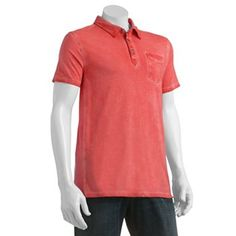 Rock and Republic Washed Polo - Men