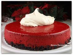 The Recipe Girl: Red Velvet Cheesecake