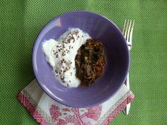 #dieton #diet #dinner #portulaca #yoghurt #linseed #healthynutrition #nutrition #health #turkishfood