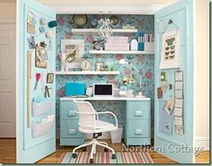 great in closet office