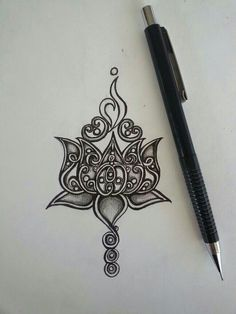 Girly Tattoos, Unique Tattoos, Cute Tattoos, Beautiful Tattoos, Body Art Tattoos, Tatoos, Lotus Tattoo Design, Lotus Design, Tattoo Designs