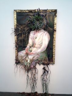 """The artwork of Valerie Hegarty born 1967 in Burlington, Vermont, USA almost seems to hover between two worlds: those of art and real life.  Much of Hegarty's work appears to begin with a classically styled piece of """"fine art"""": a still life painting, or presidential portrait for example."""