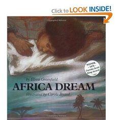Africa Dream: Eloise Greenfield, Carole Byard: 9780064432771: Amazon.com: Books