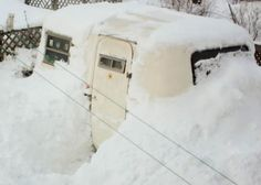 Snowed in Boler...the best of both worlds