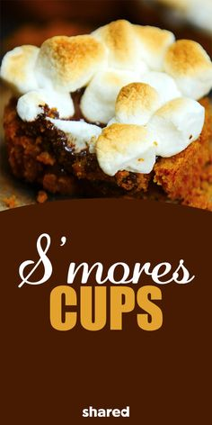 S'mores are one of those things that will always give you those nostalgic feelings of summer, camping and having a good time by the campfire! It might be easy making regular old s'mores, but it's even more fun making these S'mores Cups! You'll love this spin on the classic treat anytime of year! These are a perfect substitution for cupcakes for a party. Give these a try and you'll be dying for more!