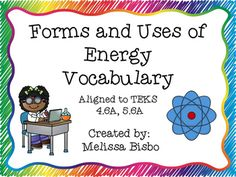 Science vocabulary mastery is an essential skill for students!Included in this…