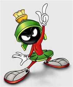 Marvin the Martian - my all time fave cartoon character EVER!
