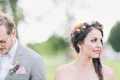 Ländliche Hochzeitsreportage auf Gut Kump