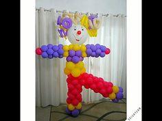 Palhaço de Balões.