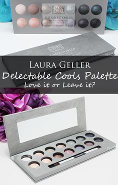Phyrra shares the new Laura Geller Delectable Cools Palette! Love it or leave it? Find out!