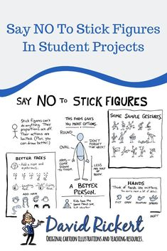 Say NO To Stick Figures In Student Projects – I love having my students draw in class. But I HATE stick figures.Stick figures aren't really. Art Classroom, Future Classroom, School Classroom, Art School, Classroom Ideas, Teaching Art, Teaching Resources, Student Teaching, Teaching Ideas
