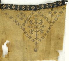 Coptic. Textile, 8th century C.E. Wool, 7 1/2 x 8 1/2 in. (19.1 x 21.6 cm). Brooklyn Museum, Gift of Philip Gould, 85.165.3. Creative Commons-BY (Photo: Brooklyn Museum (in collaboration with Index of Christian Art, Princeton University), CUR.85.1653_ICA.jpg)