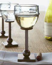 Love love love these wine glasses!