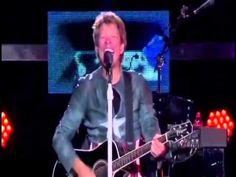 Greg Gumbel Super Bowl XLVIII Halftime Show - Bon Jovi