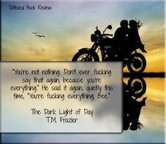 5 Star Book Review: THE DARK LIGHT OF DAY by T.M. Frazier