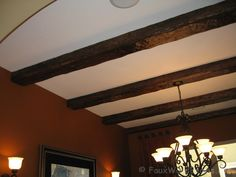 Dining Room Design | Interior Decor Ideas with Fake Wood