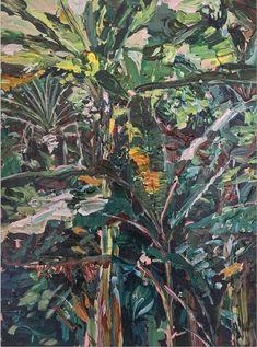 Magnus Sodamin (American, b. 1987), Untitled (Fairchild | No. 11), 2017. Acrylic on wood panel, 61 × 45.7 cm