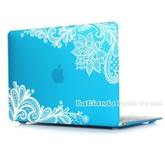 Batianda(TM) Floral Lace Air 11 12 13 Pro 13 15 Frosted Matte Hard Case Cover for MacBook Pro 13.3 15.4'' with Retina