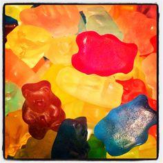Organic gummy bears!!