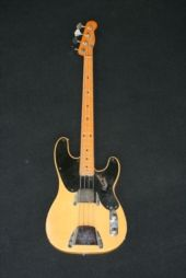 1952 Precision bass. Fender Precision Bass, Telecaster Guitar, Guitar Amp, Guitars, Music, Vintage, Bass Guitars, Musica, Musik