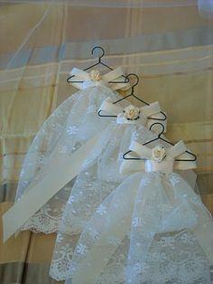 Miniature Lace Gown Sachet