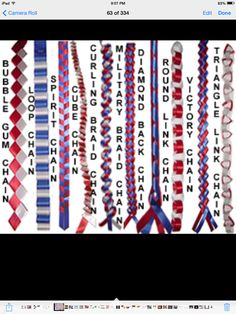 How to Make Homecoming Mums Garters and Braids different homecoming mum braids, the Military braid I would like due with different blues so it has a touch of the navy in it? Homecoming Mums Senior, Football Homecoming, High School Homecoming, Homecoming Corsage, Homecoming Ideas, Senior Year, Homecoming Spirit, Homecoming Dresses, Unique Homecoming Mums