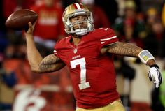 San Francisco's Colin Kaepernick's was adopted by Rick and Teresa Kaepernick who had two children of their own, but lost two babies shortly after birth because of heart defects. Never mind that Colin was black and they were white. They just wanted another baby. So they took him in, remaining open and honest about his adoption.