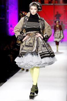 Жан-Поль Готье осень 2010 готовых к износу коллекции фото - моде