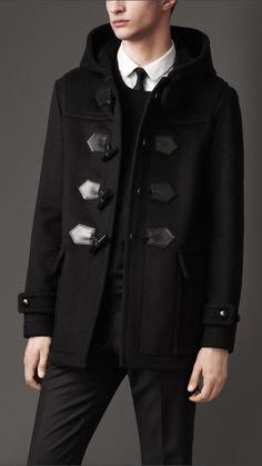 Burberry Seam Detail Duffle Coat. Love this coat! | Coat ...