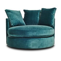 The Cobble Hill Hollywood Swivel Chair would be great for a game room/movie room Funky Furniture, Handmade Furniture, Furniture Sale, Sofa Furniture, Style Lounge, Single Chair, Turquoise, Aqua, Oversized Chair