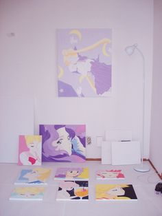 Envisions of Sailor Moon...ill take all the photos to hang in my room! :)