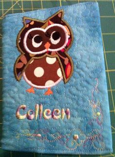 Notebook cover   - Knitting, sewing, crochet, tutorials, children crafts, jewlery, needlework, swaps, papercrafts, cooking and so much more on Craftster.org