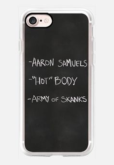 Casetify iPhone 7 Classic Grip Case - Regina George--39-s Resources by Allison Reich #Casetify